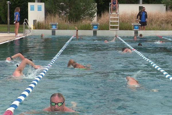 La piscine du Wacken à Strasbourg.