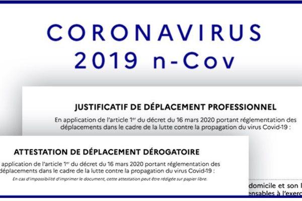 Confinement Coronavirus Voici La Nouvelle Attestation De Deplacement Derogatoire A Telecharger
