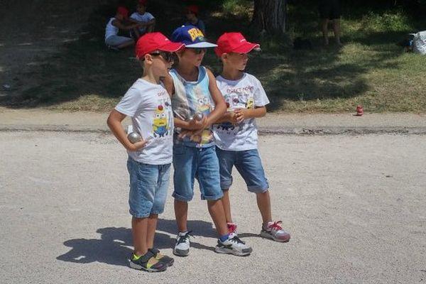 Ils sont encore jeunes, mais l'esprit de compétition est déjà bien présent.
