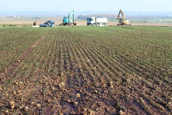 900m3 de pétrole se sont déversés dans les champs dans la nuit du 24 au 25 février 2019.