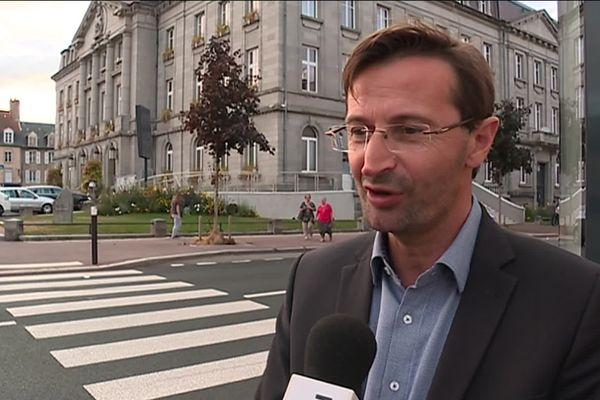 Jean-Luc Léger, président de la communauté de communes Creuse Grand sud est le quatrième candidat.
