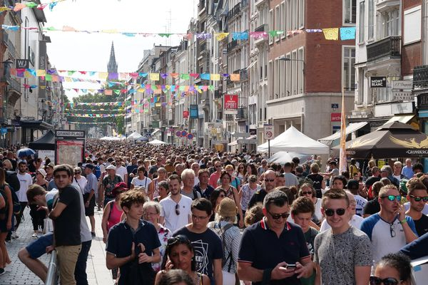Plus d'un million de chineurs ont arpenté les rues de Lille ce week-end.