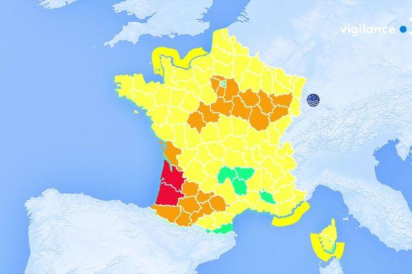 Vigilance orange : Aube, Haute-Marne, Vosges