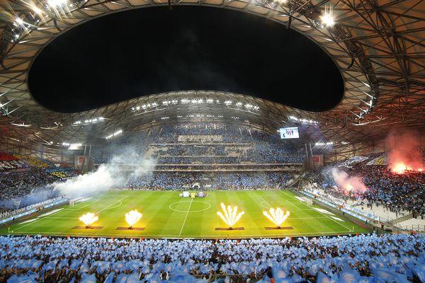 Le stade Vélodrome archi comble lors du matche OM / PSG le 22 octobre dernier, match émaillé par des incidents provoqués par certains supporters marseillais.