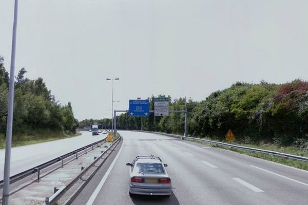 L'A20 à hauteur de Limoges (illustration)