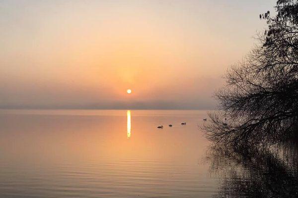 Lever de soleil quelque part en Gironde