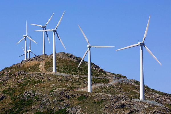 Les 20 éoliennes, installées en 2000 sur les communes de Rogliano et d'Ersa, ont été démontées en 2019.