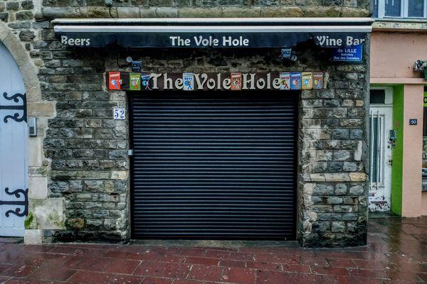 Le Vole Hole, rue de Lille, quartier du vieux Boulogne.