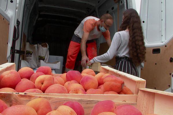 Ces fruits seront proposés aux associations qui les redistribuent à leurs bénéficiaires.