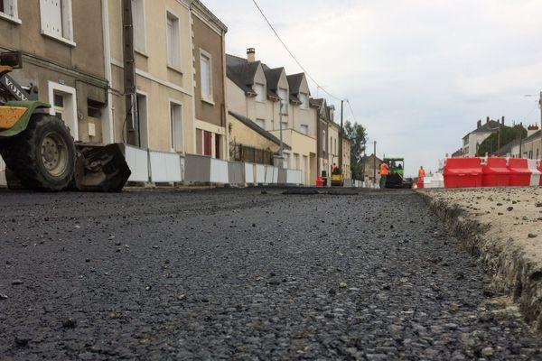 Le chantier du tram, au centre d'Angers, pourrait être retardé