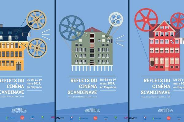 Reflets du cinéma scandinave en Mayenne du 8 au 19 mars 2019