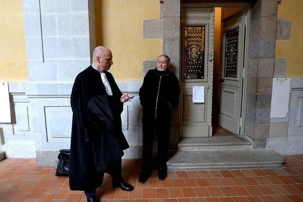 Me Saint-Pierre et Maurice Agnelet