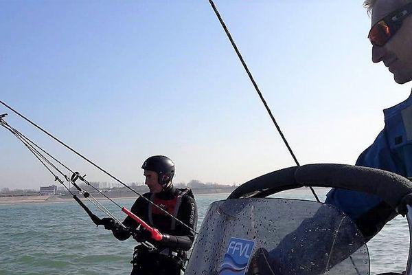 Le simulateur de kite-surf
