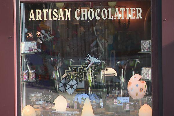 A Belfort, la chocolaterie Klein se prépare aux fêtes de fin d'année.
