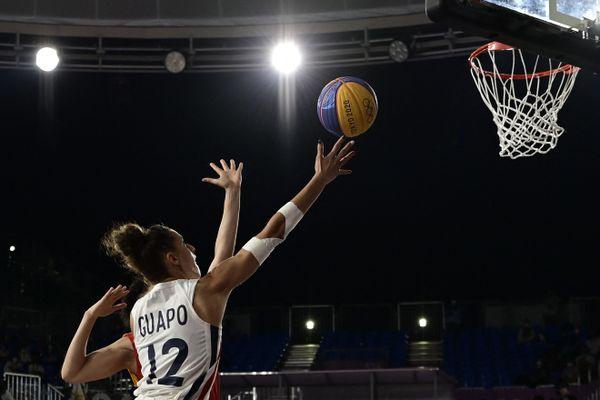 Pas de médaille pour la Berruyère Laetitia Guapo et ses coéquipières de l'équipe de France après leur défaite face à la Chine (14-16).