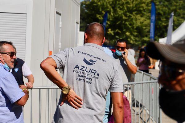 Jean-Michel Puccinelli s'est plaint du dos à la suite de sa partie.