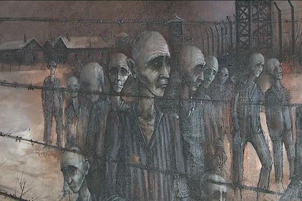 """""""Auschwitz"""", Michel Girard, 1973"""