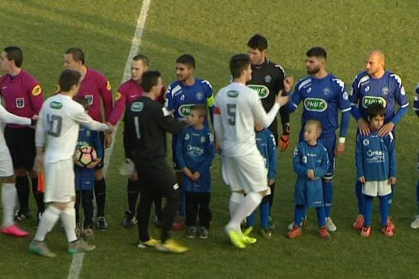 Pontarlier - Grenoble match du 8e tour de la Coupe de France 2016