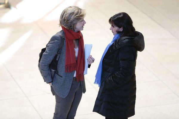 Valérie Pécresse et Anne Hidalgo en 2013.