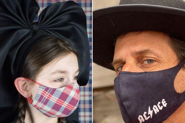 En cette période de crise sanitaire, le masque devient accessoire de mode : à chacun son style