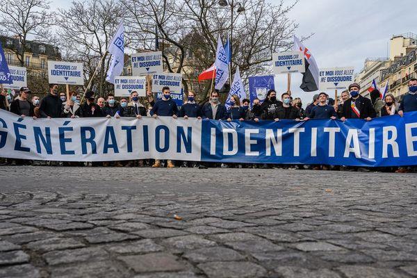"""le groupe d'extreme droite """"Génération identitaire"""" dissous ce mercredi"""