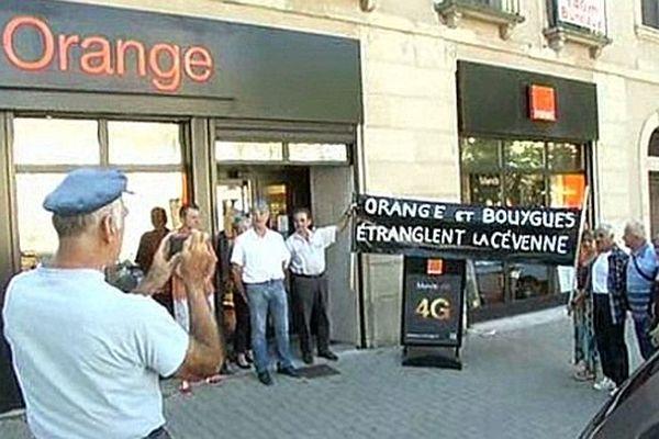 Mende - la 4G débarque en Lozère même si le téléphone fixe fonctionne toujours très mal - 4 septembre 2014.