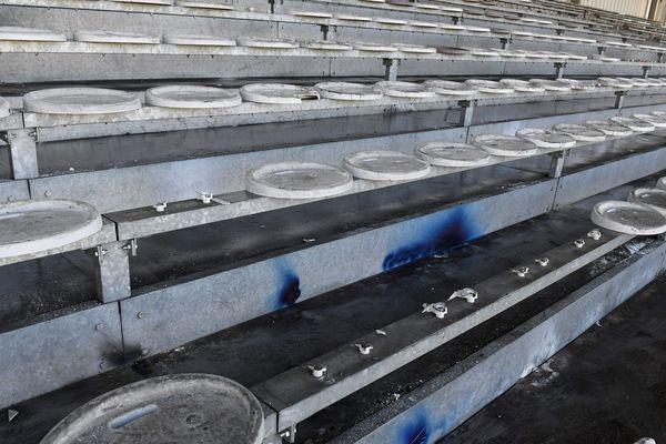 Dégradations de sièges après FBBP 01- OL le Lundi 6 Janvier 2020
