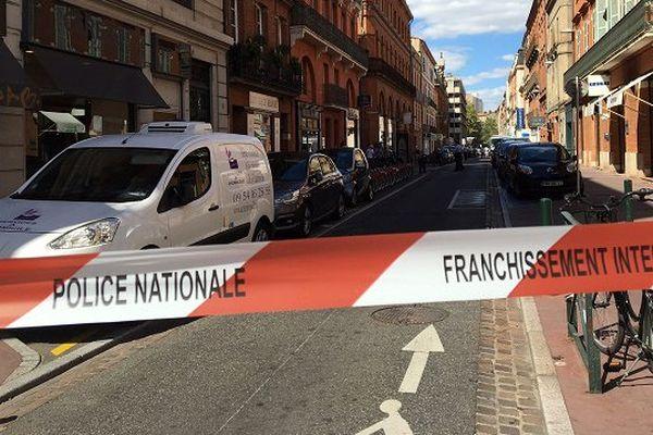 Les faits se sont déroulés à l'accueil du commissariat de quartier de Toulouse centre