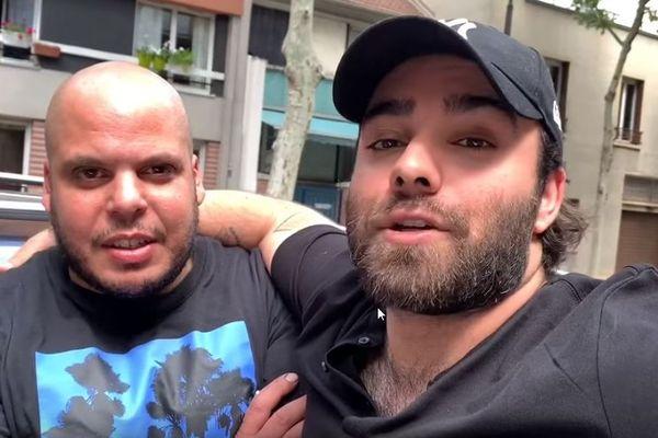 Le Youtubeur automobile, Akram Junior, et son ami Slim ont décidé d'aider le conducteur de la Scenic en lui offrant une voiture.