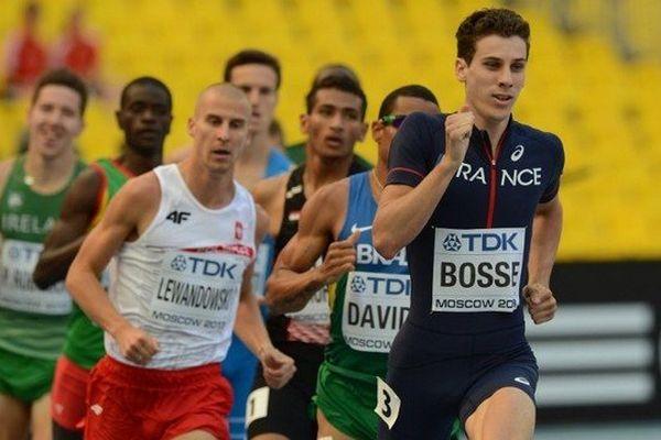 Le Gujanais Pierre-Ambroise Bosse en tête de sa série aux championnats du monde d'athlétisme 2013