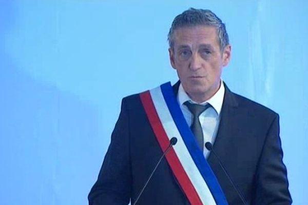 Philippe Saurel, nouveau maire de Montpellier - 5 avril 2014.