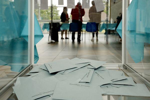 Bureau de vote, photo d'illustration.