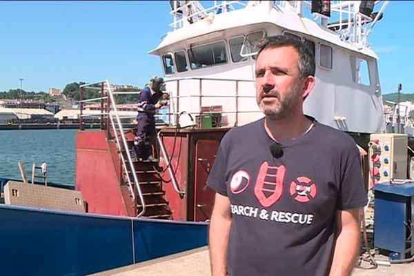 Iñigo Mijangos, président de Sauvetage maritime humanitaire