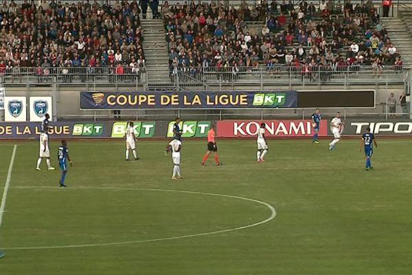 Les Chamois Niortais se sont qualifiés pour le deuxième tour de la Coupe de la Ligue.