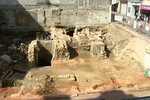 Des édifices en très bon état ont été découverts.