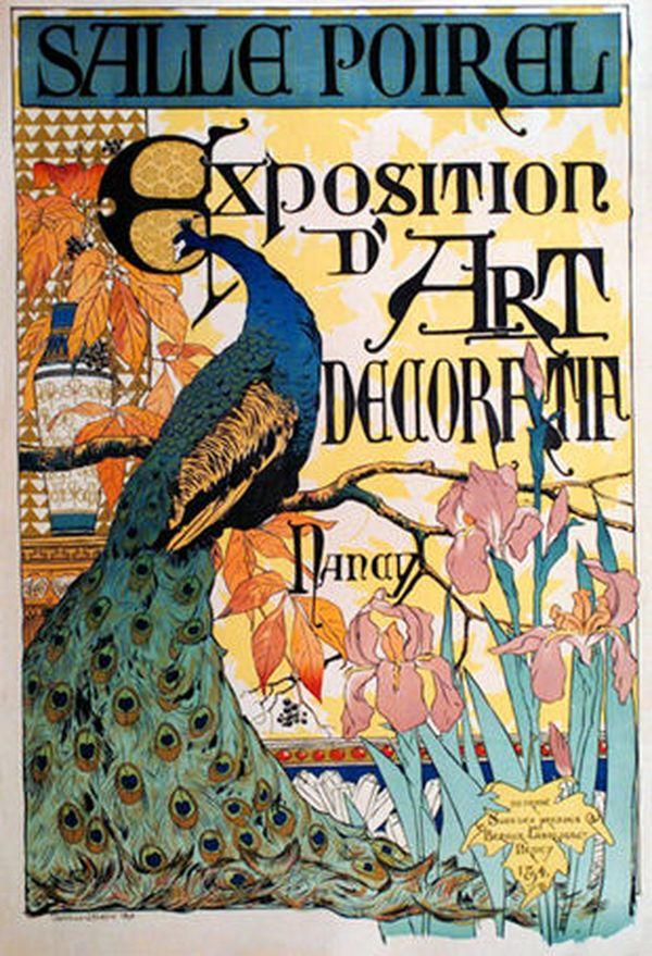 Affiche réalisée par Camille Martin. Exposition salle Poirel à Nancy