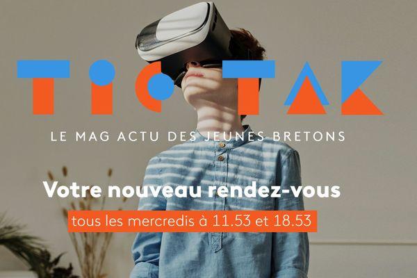 Tic Tak, le mag actu des jeunes bretons.