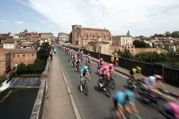 Le Tour de France est passé par Gaillac en 2019, cette année, il traversera Castres et Lavaur.
