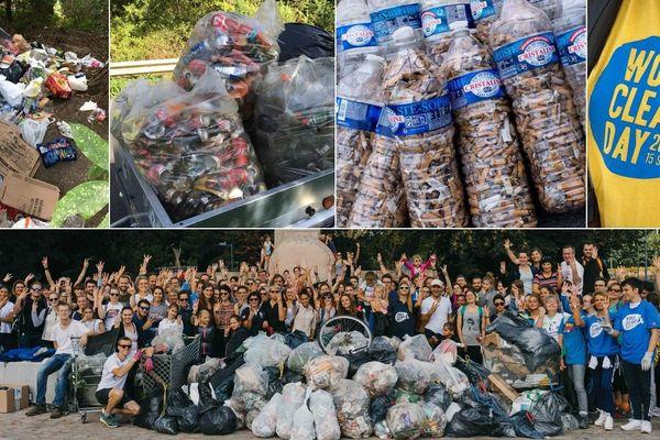 Des tonnes de déchets ont été ramassés par des milliers de personnes samedi 15 septembre dans les Hauts-de-France, pour le World CleanUp Day.