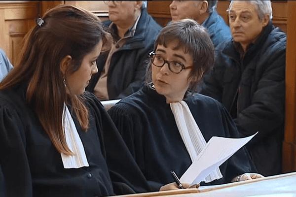 Des avocats dans la salle d'audience- Le 17/12/2015