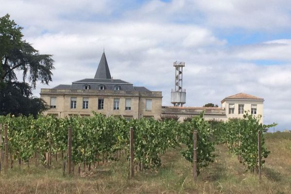 Le domaine Grande Ferrade de l'Inra à Villenave-d'Ornon.