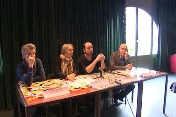 Conférence de presse de producteurs audiovisuels du Limousin, Limoges, 12 novembre 2014