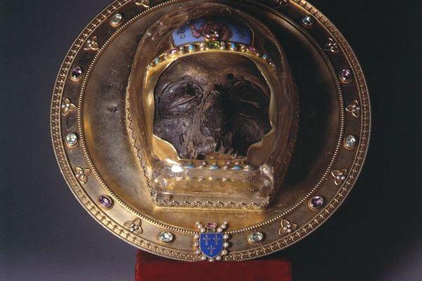 La relique de Saint Jean-Baptiste est arrivée à Amiens au XIIIe siècle