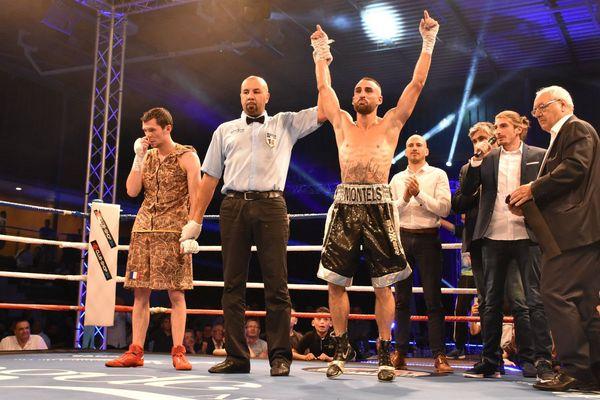 Le boxeur agathois Florian Montels sacré champion de France des super-plumes - 25 mai 2018