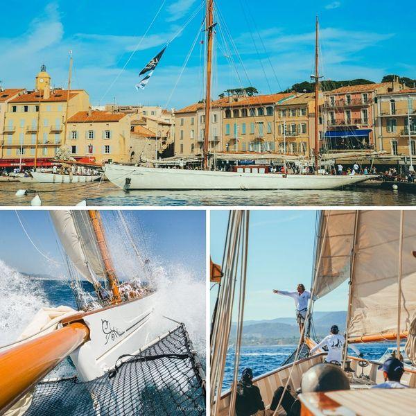 Dans le port de Saint-Tropez et à Barcelone...