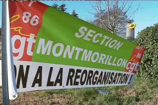 Les facteurs de Montmorillon sont en grève depuis hier mardi 12 février 2019.