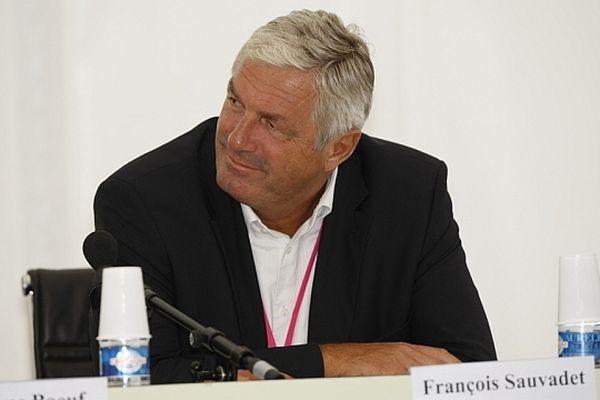 François Sauvadet, président du conseil général de Côte d'Or et vice-président du groupe UDI à l'Assemblée nationale