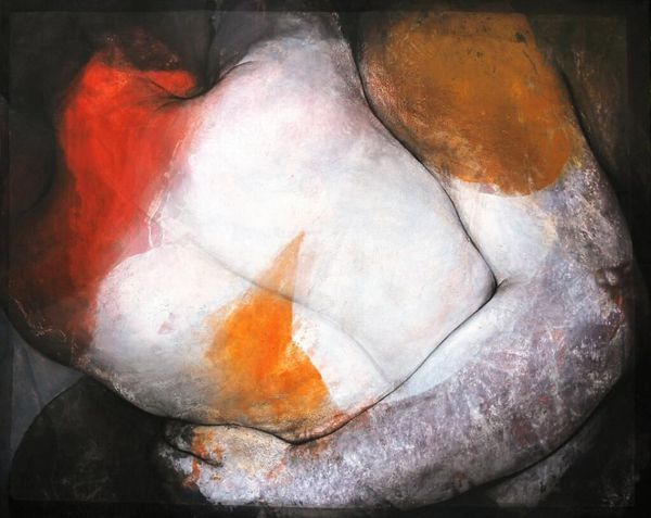L'exposition propose des peintures d'Etienne Gros et des sculptures de Philippe Morel.