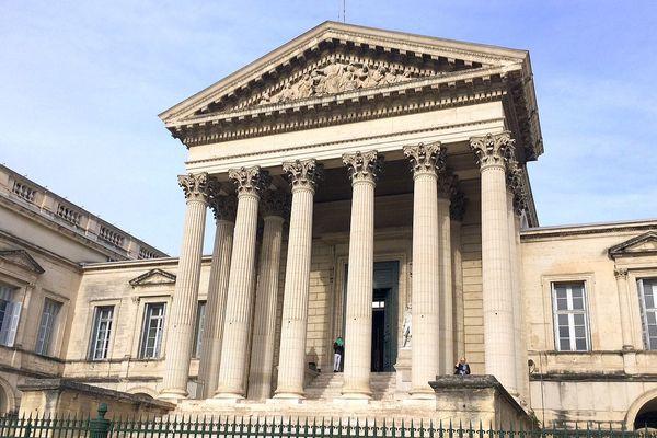Montpellier - le palais de justice - 2016.