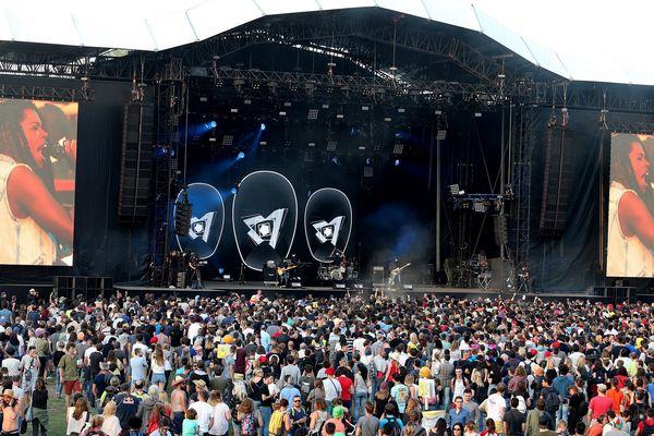 Le Cabaret Vert a attiré l'an passé  près de 100.000 festivaliers à Charleville-Mézières.
